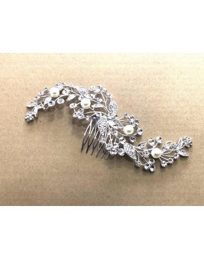 Gros bijoux de tête mariage
