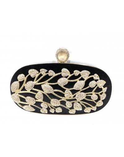 Pochette clutch velours...
