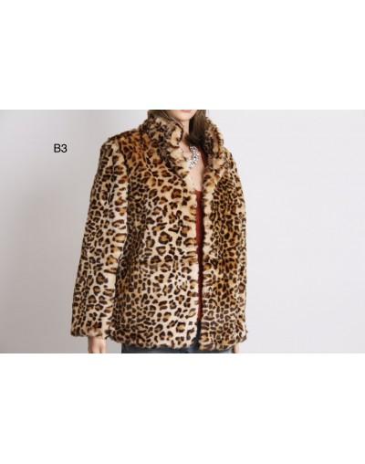 Vest manche longue leopard