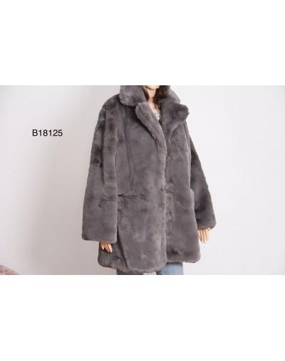 Manteau fourrure épaisse