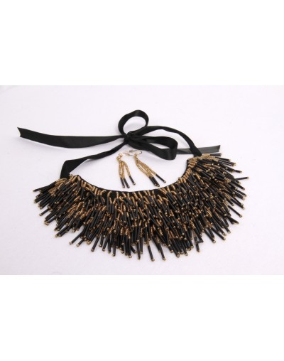 Collier à franges Lia