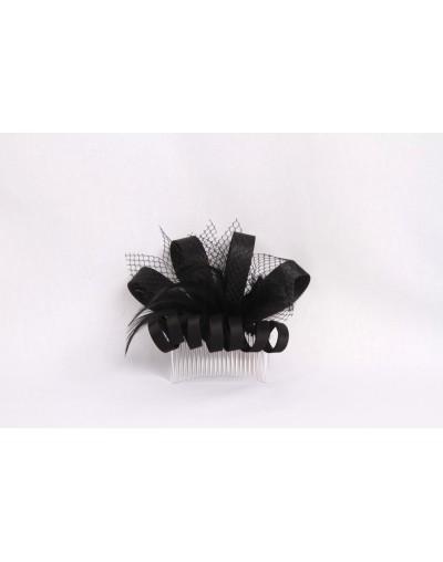 Peigne à cheveux avec plumes
